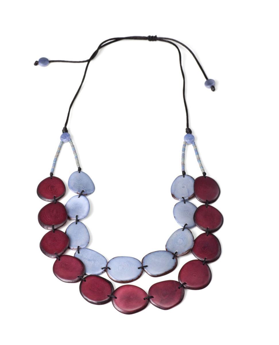 Encanto Jewelry Aurora Merlot Necklace
