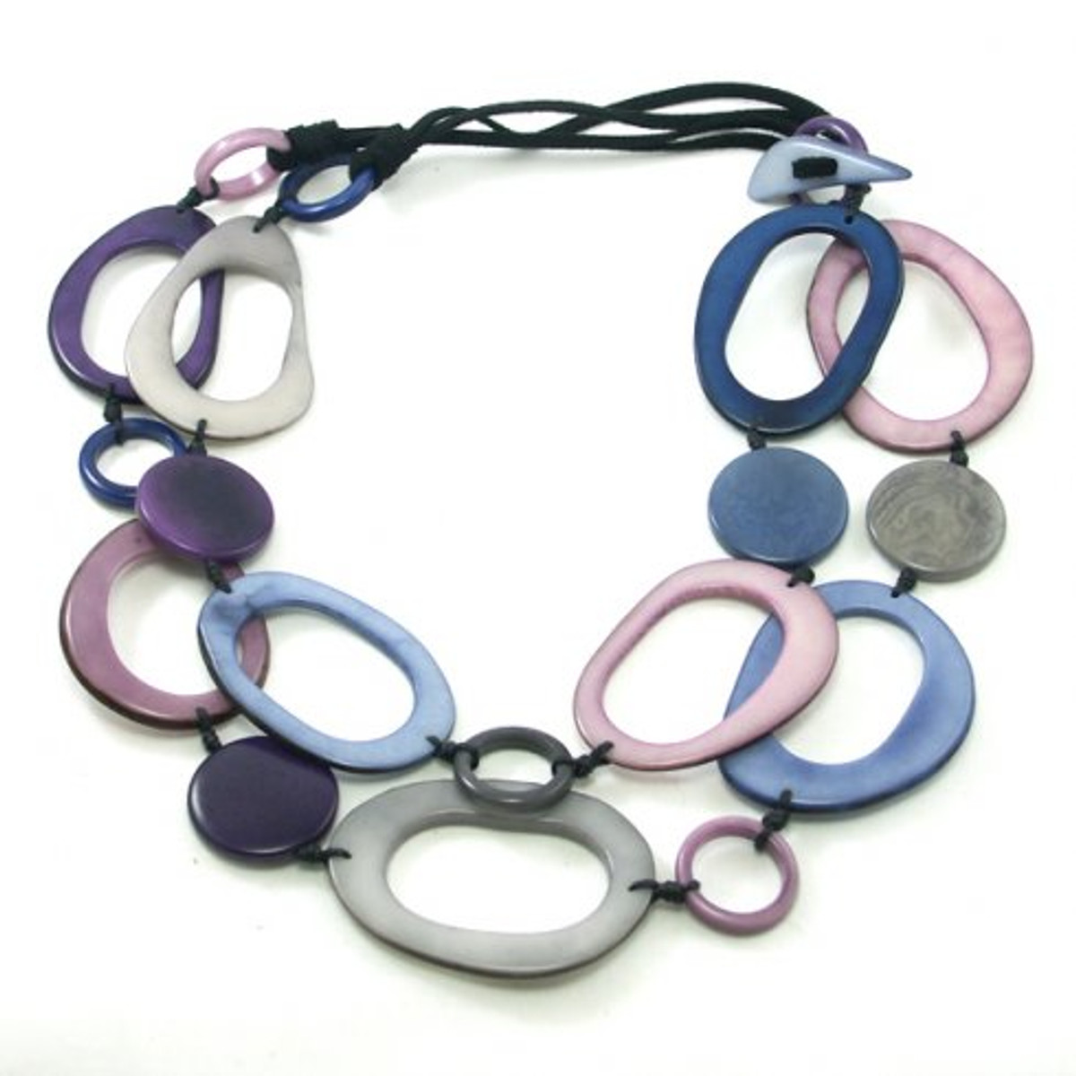 Encanto Jewelry Kayuna Plum Purple Necklace