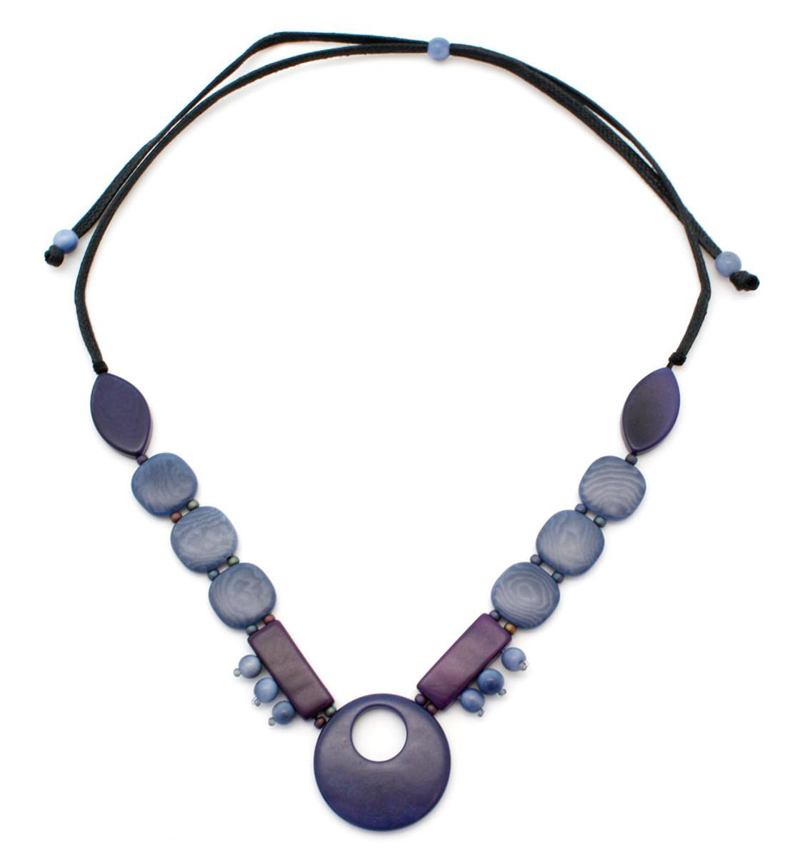 Blue Encanto Jewelry Safia Indigo Necklace