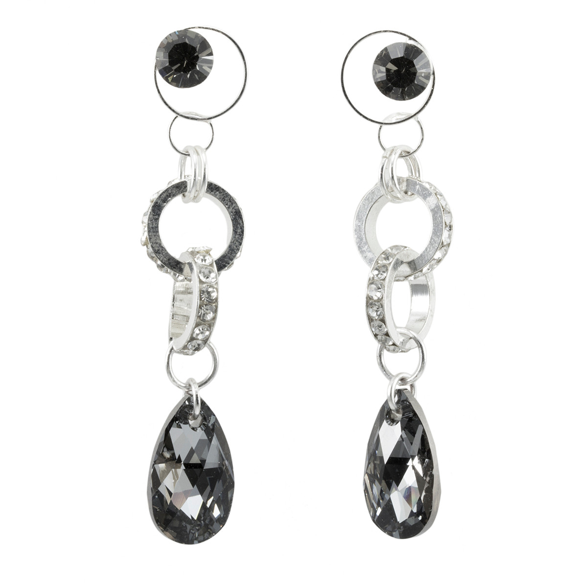 Anat Collection Earrings Silver Storm Shabby Chic