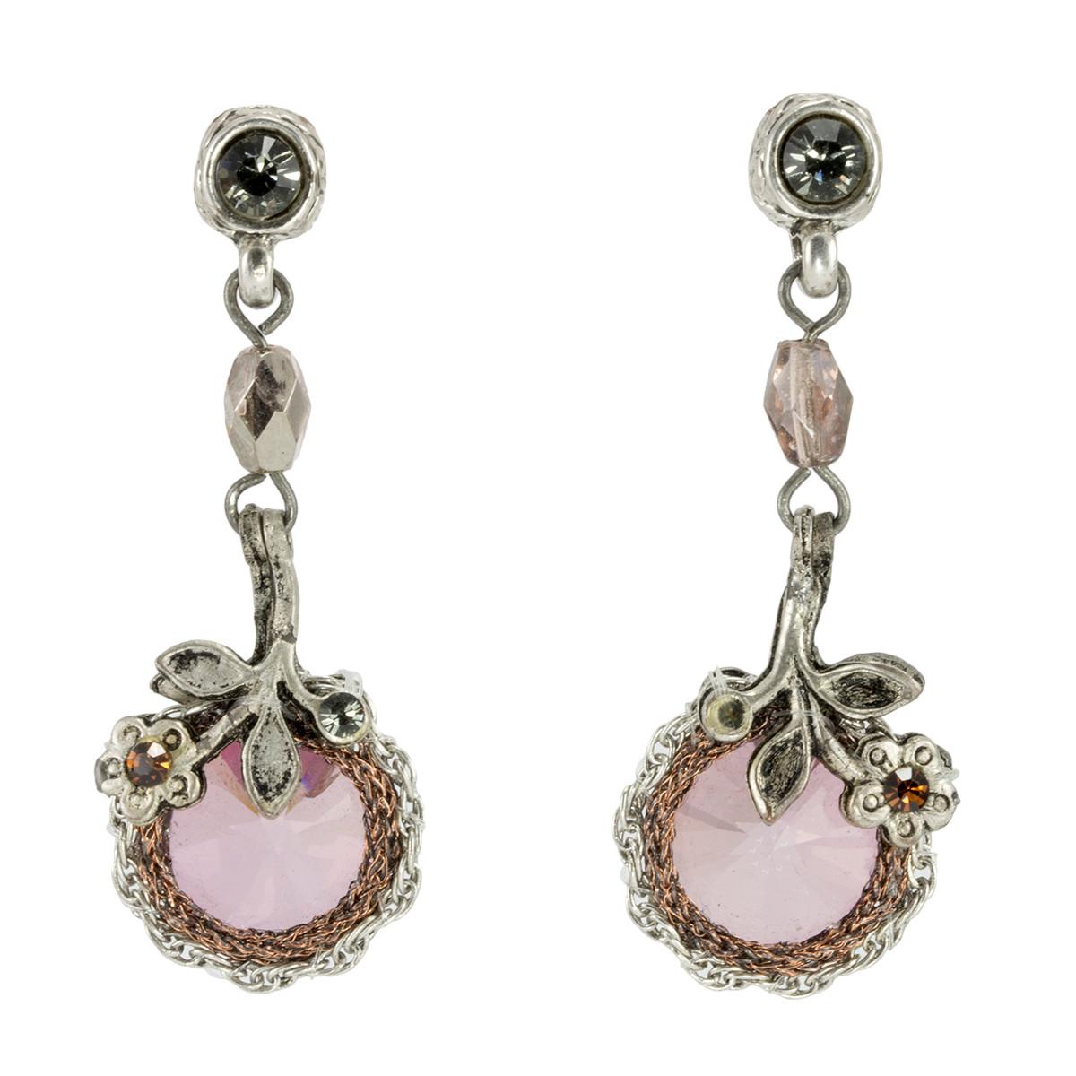 Anat Collection Earrings Antique Pink Nouveau Glam