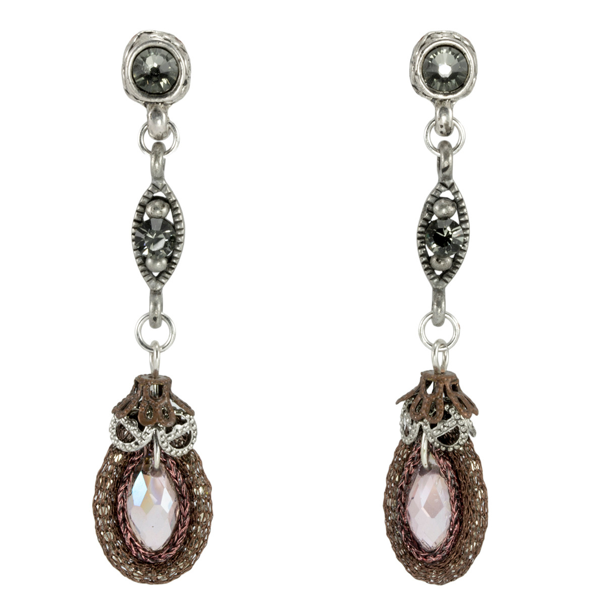 Anat Jewelry Bell of the Ball Nouveau Glam Earrings