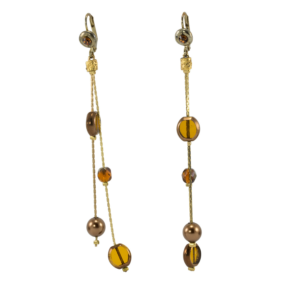 Brown Anat Jewelry Earrings