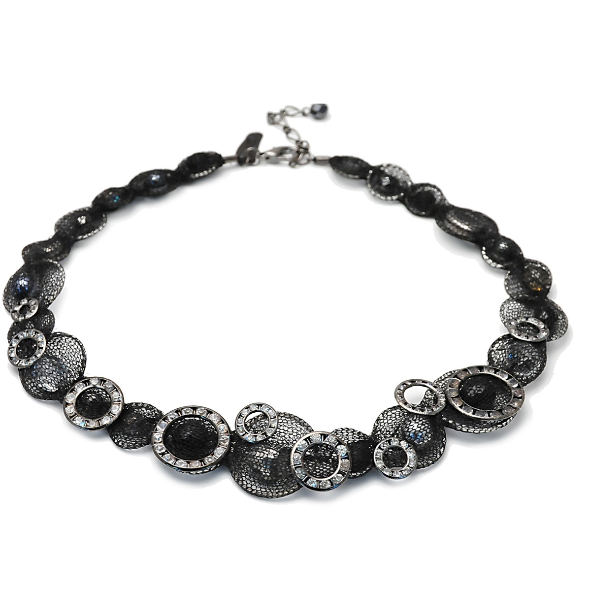Anat Jewelry Black Night Classic Opulence Necklace