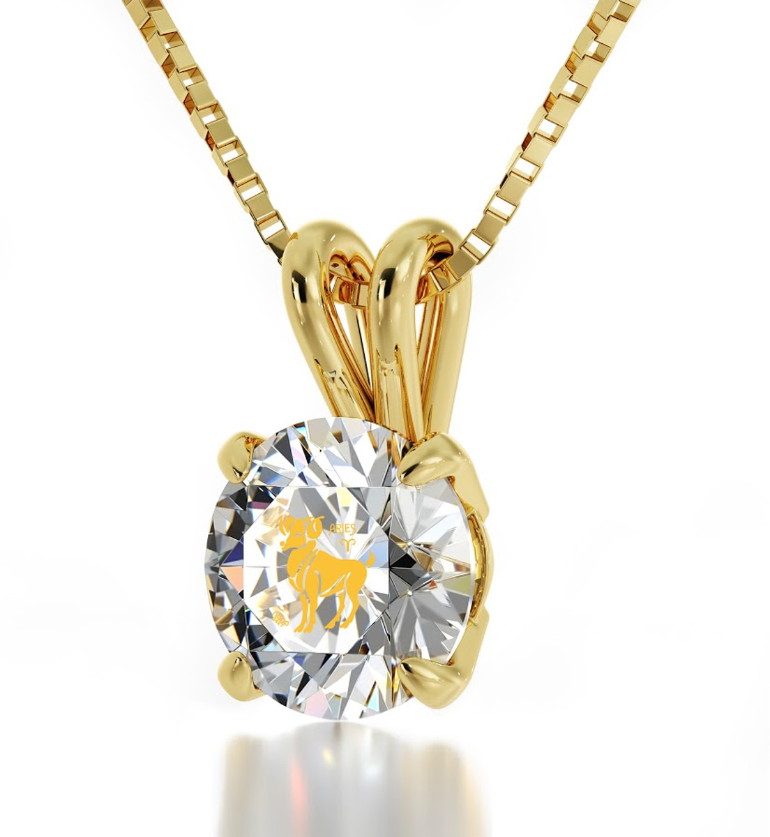 Inspirational Jewelry Aries Gold Necklace