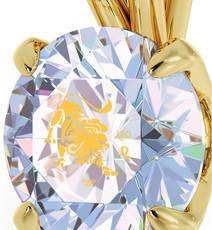 Inspirational Jewelry Necklace Gold Leo