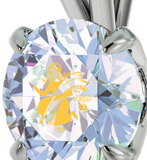 Inspirational Jewelry Opal Opal Necklace Silver Virgo