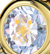 Nano Jewelry Opal Opal Gold Heart Scorpio Necklace