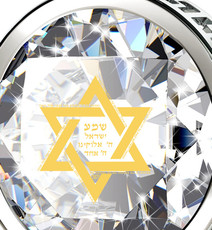 Inspirational Jewelry Silver Star of David Necklace