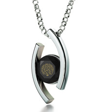 Black Diana Silver Song of Ascents necklace