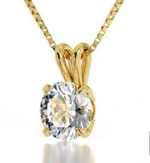 Inspirational Jewelry Necklace Gold Hamsa 4 Names