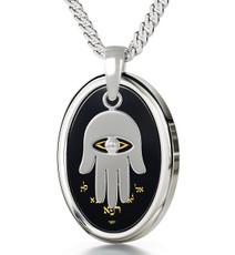 Black Silver Birkat Kohanim necklace from Inspirational Jewelry