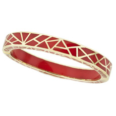 Andrew Hamilton Crawford Kaleidoscope Red and Gold Bracelet