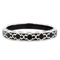 Harmony Black and Silver bracelet from Hamilton Crawford Jewelry
