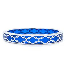 Hamilton Crawford Harmony Sapphire and Silver Blue Bracelet