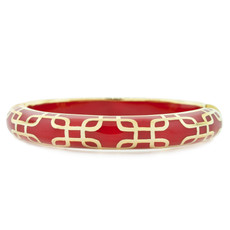 Hamilton Crawford Jewelry Sailor Red and Gold Bracelet