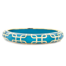 Hamilton Crawford Sailor Turquoise and Gold Bracelet