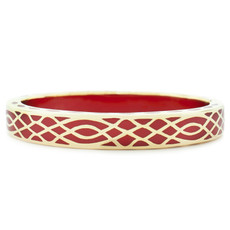 Hamilton Crawford Jewelry Infinity Red and Gold Red Bracelet