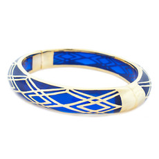 Hamilton Crawford Blue Waves of Electricity Bracelet