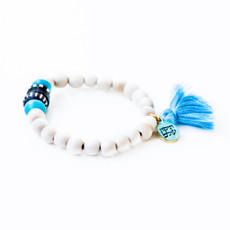 7Stitches Kabbalah Protection with Turquoise Bracelet