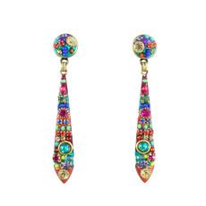 Michal Golan Multicolor teardrop dangle earring