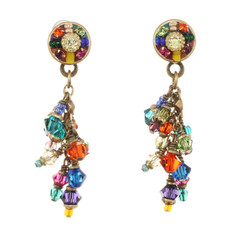 Michal Golan Round multibright earrings