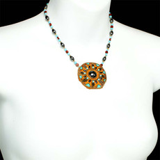 Gold Michal Golan Jewelry Southwest Necklace - second image