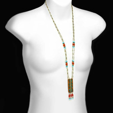 Gold Southwest necklace from Michal Golan Jewelry - second image