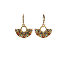 Michal Golan Gold Southwest Earrings