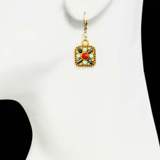 Michal Golan Gold Earrings Southwest - second image