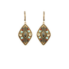 Michal Golan Jewelry Southwest Gold Earrings
