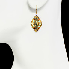 Michal Golan Jewelry Southwest Gold Earrings - second image