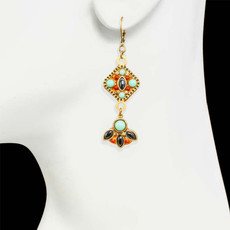 Michal Golan Jewellery Southwest Gold Earrings - second image