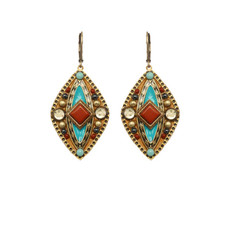 Gold Michal Golan Jewelry Southwest Earrings
