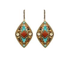 Gold Michal Golan Jewelry Southwest Earrings