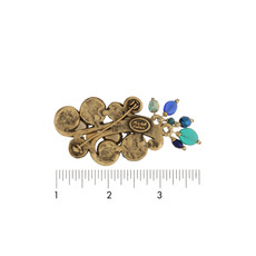 Michal Golan Jewelry Emerald Blue Pin - second image