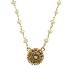 White Michal Golan Elegante Necklace