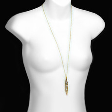 Gold Icicle style necklaces by Michal Golan Jewelry - second image