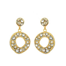 Michal Golan Gold Earrings Icicle