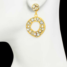 Michal Golan Gold Earrings Icicle - second image