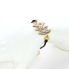 Gold Icicle bracelet from Michal Golan Jewelry - second image