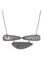 Grey Marcia Moran Sage Necklace