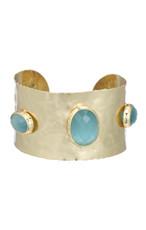Marcia Moran Blue Bracelet Zeus