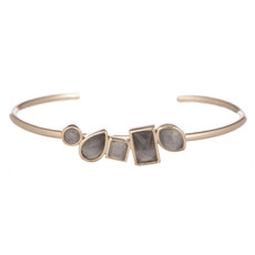 Grey Cashel bracelet by Marcia Moran Jewelry