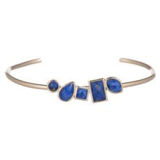 Blue Cashel style bracelet by Marcia Moran Jewelry