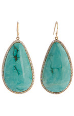 Marcia Moran Mirabelle Turqoise Earrings earrings from Marcia Moran Jewelry