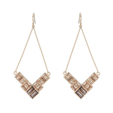 Violette earrings by Marcia Moran Jewelry