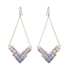 Marcia Moran Purple Violette Earrings