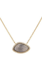 Grey Marcia Moran Jewelry Valencia Necklace