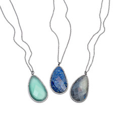 Marcia Moran Jewelry Trent Labradorite Necklace